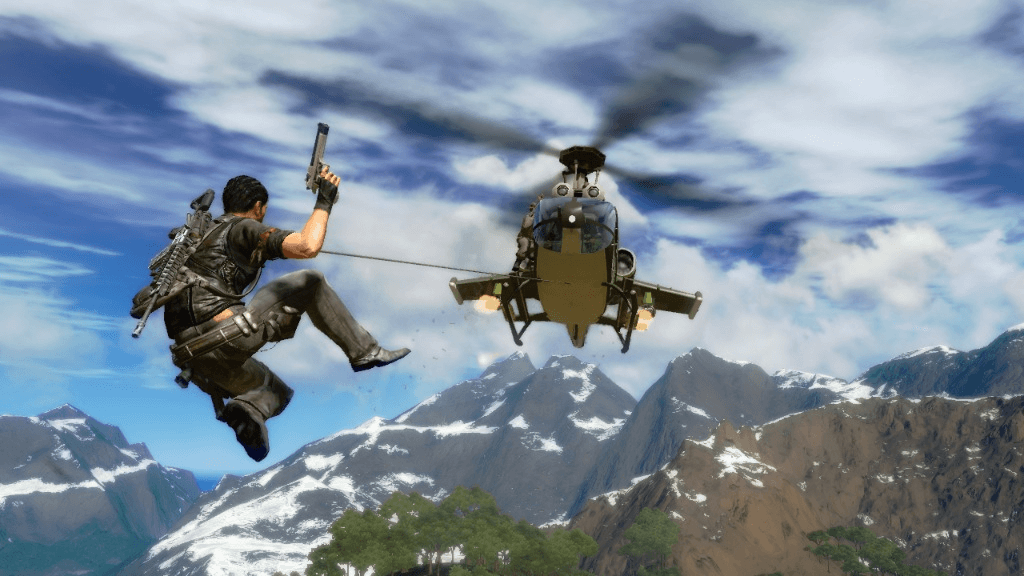 Just Cause 4 grappling hook