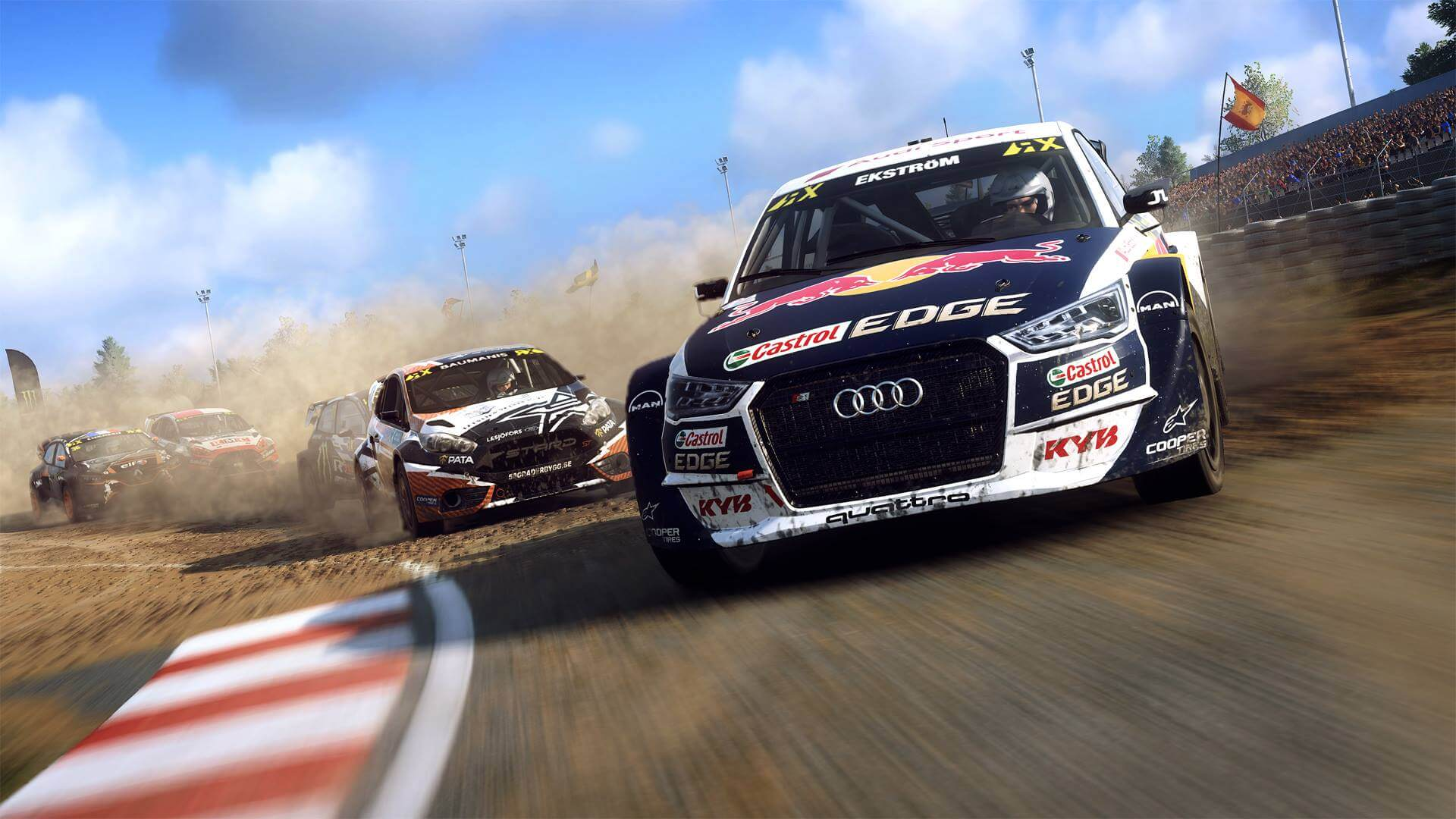 Dirt Rally 2.0 on track