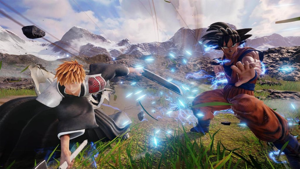 Jump Force action
