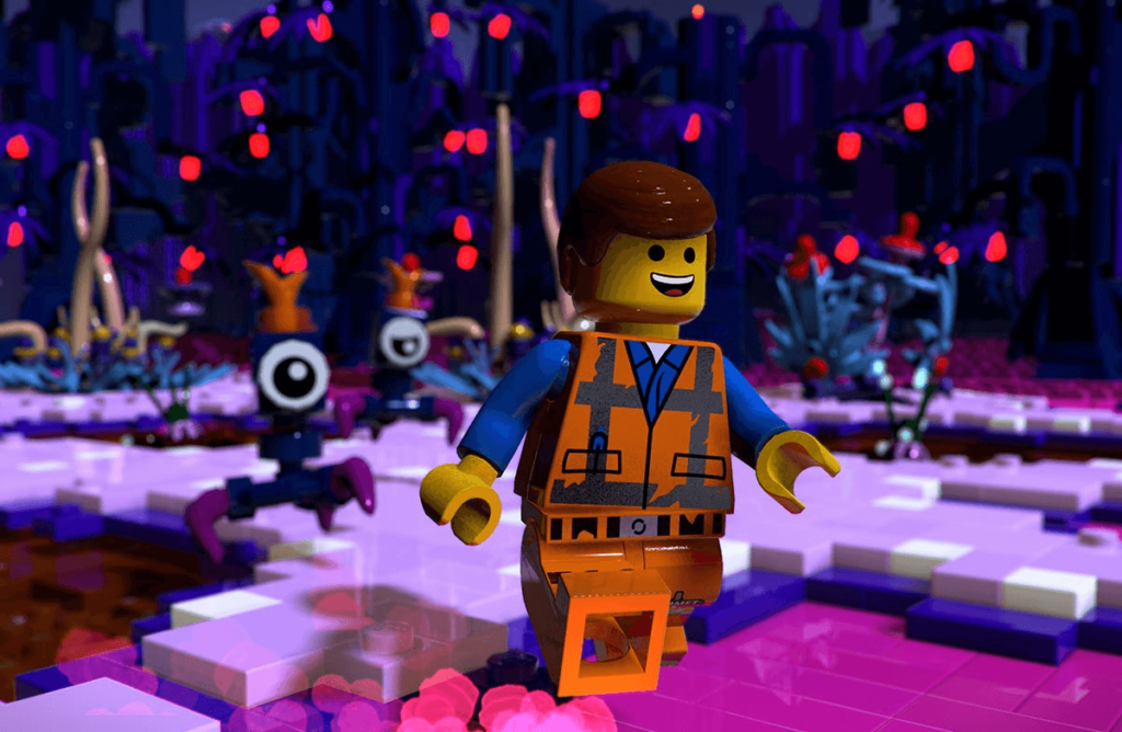 Lego Movie 2 video game explore worlds