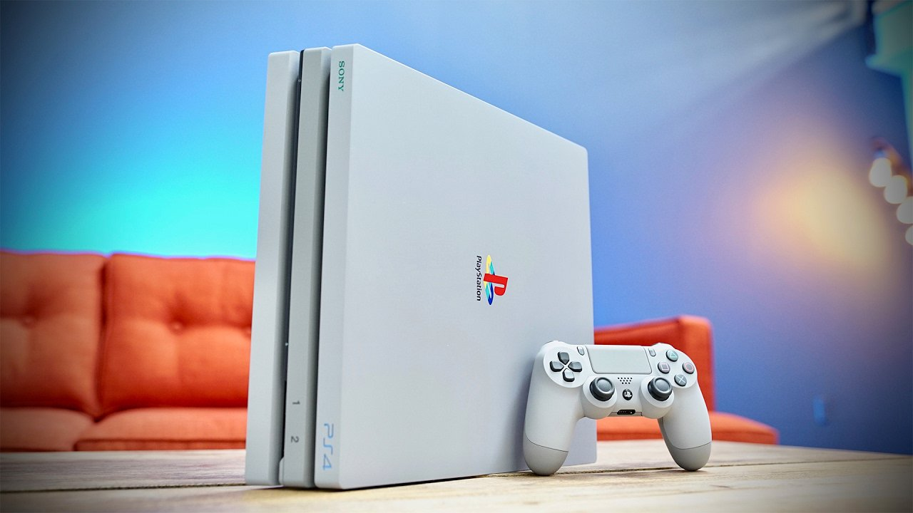 PS4 Pro limited edition console