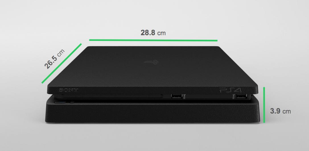 PS4 Slim Dimensions