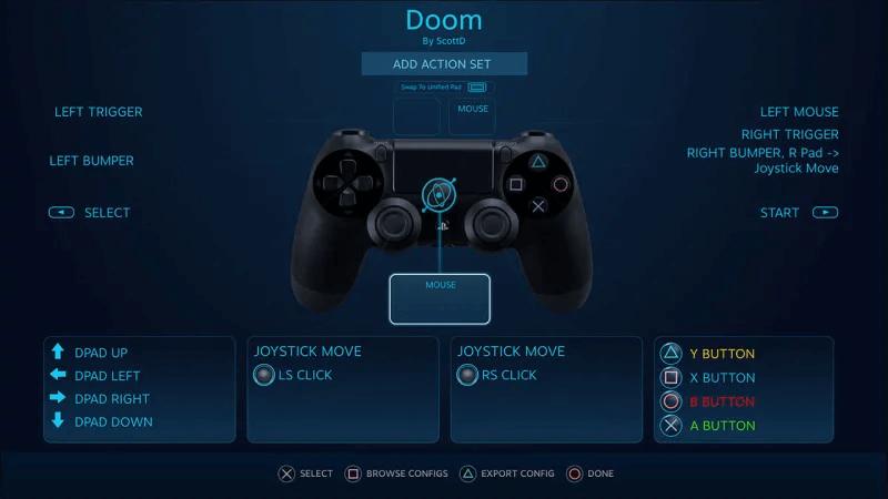 Steam Dualshock