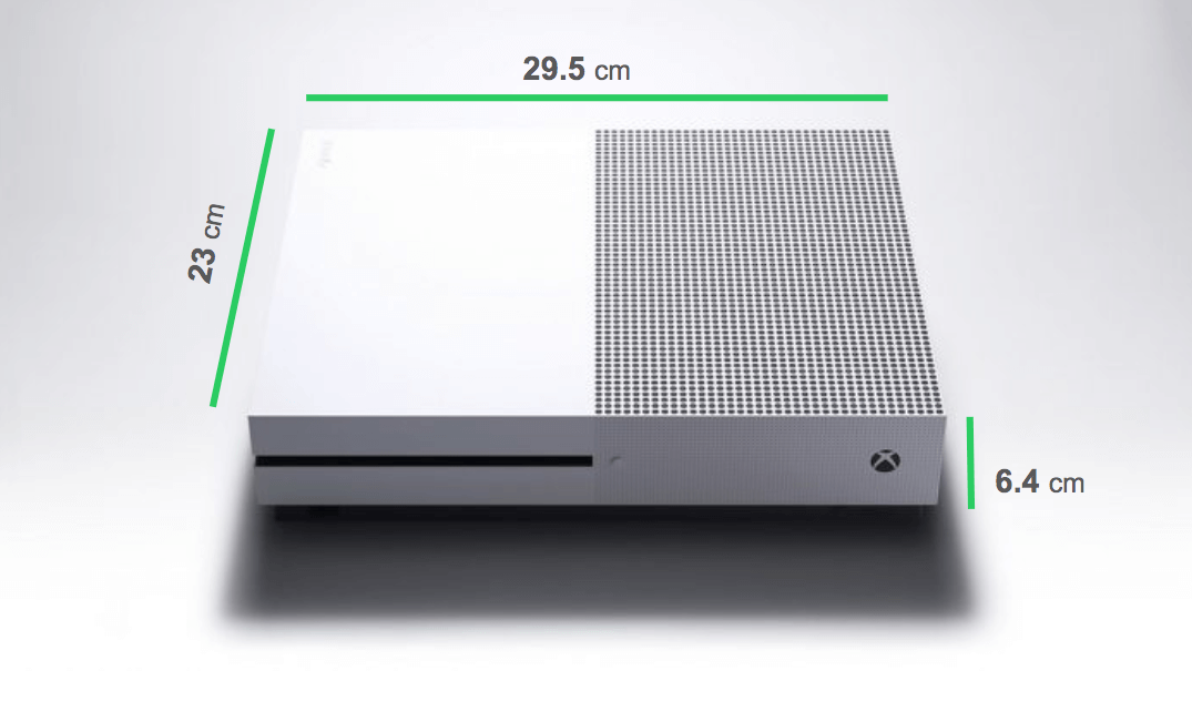 Xbox One Dimensions