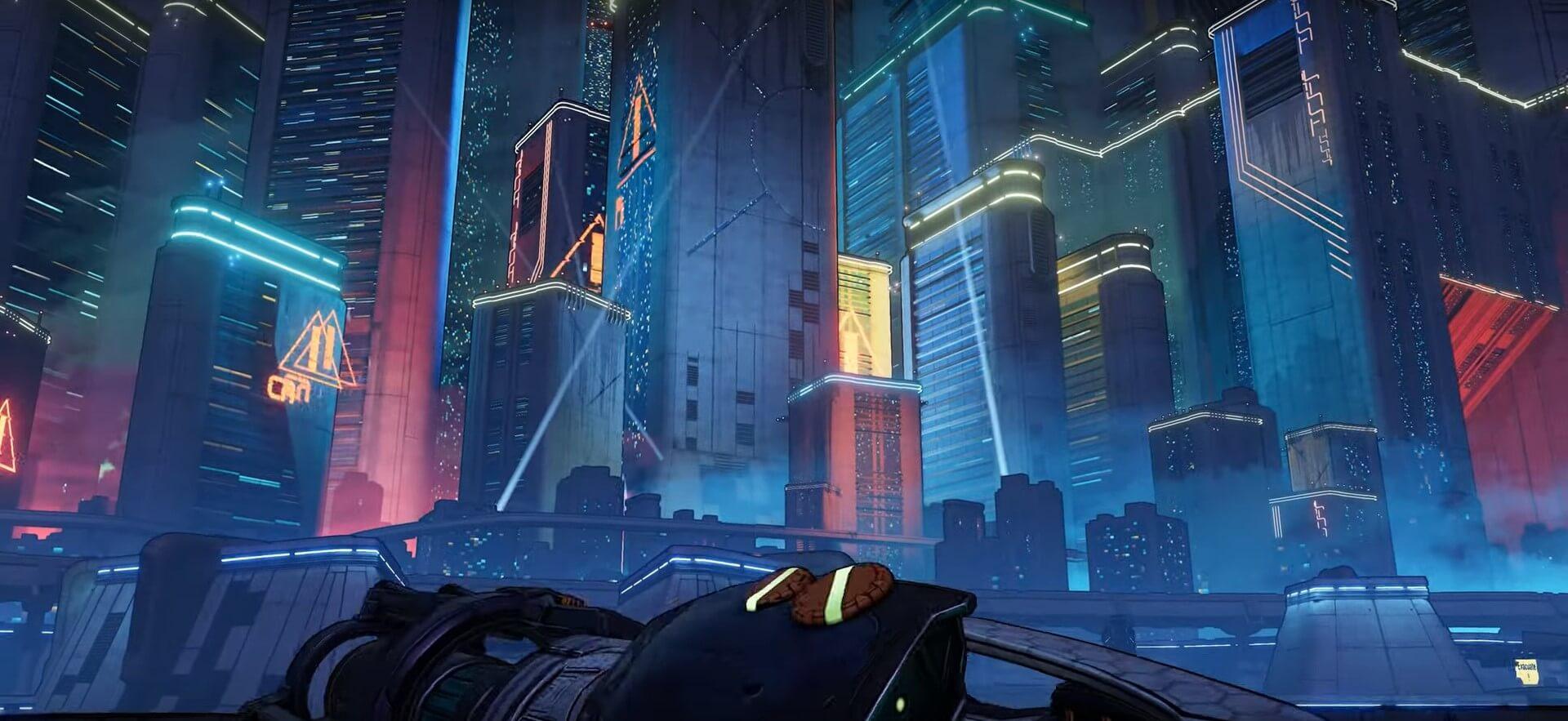 Borderlands 3 neon planet