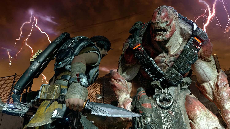 Gears 5 Locust