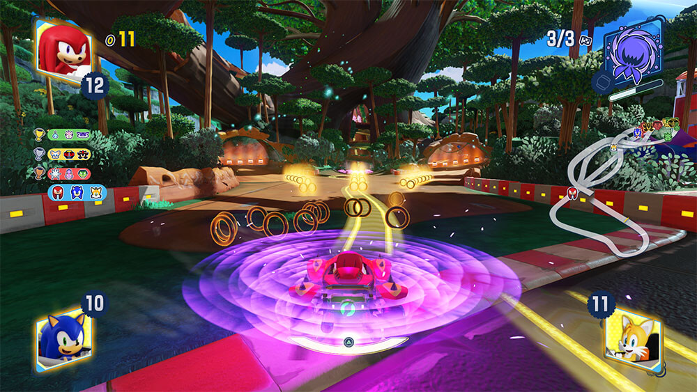 Team sonic Racing wisp power