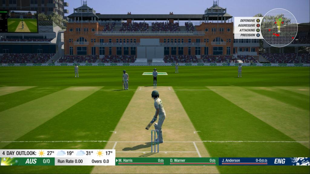 Cricket 19 bat swing