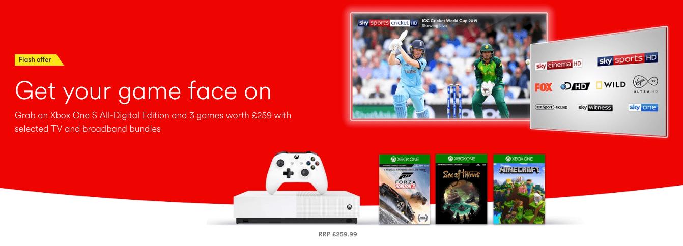 Free Xbox One Virgin Bundles