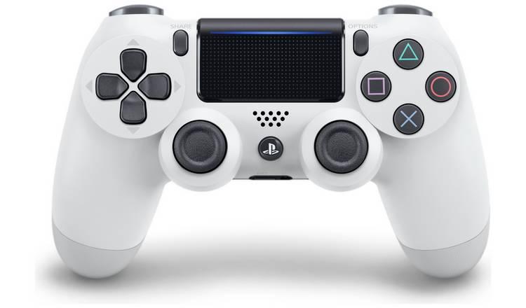 Glacier White Dualshock 4 controller