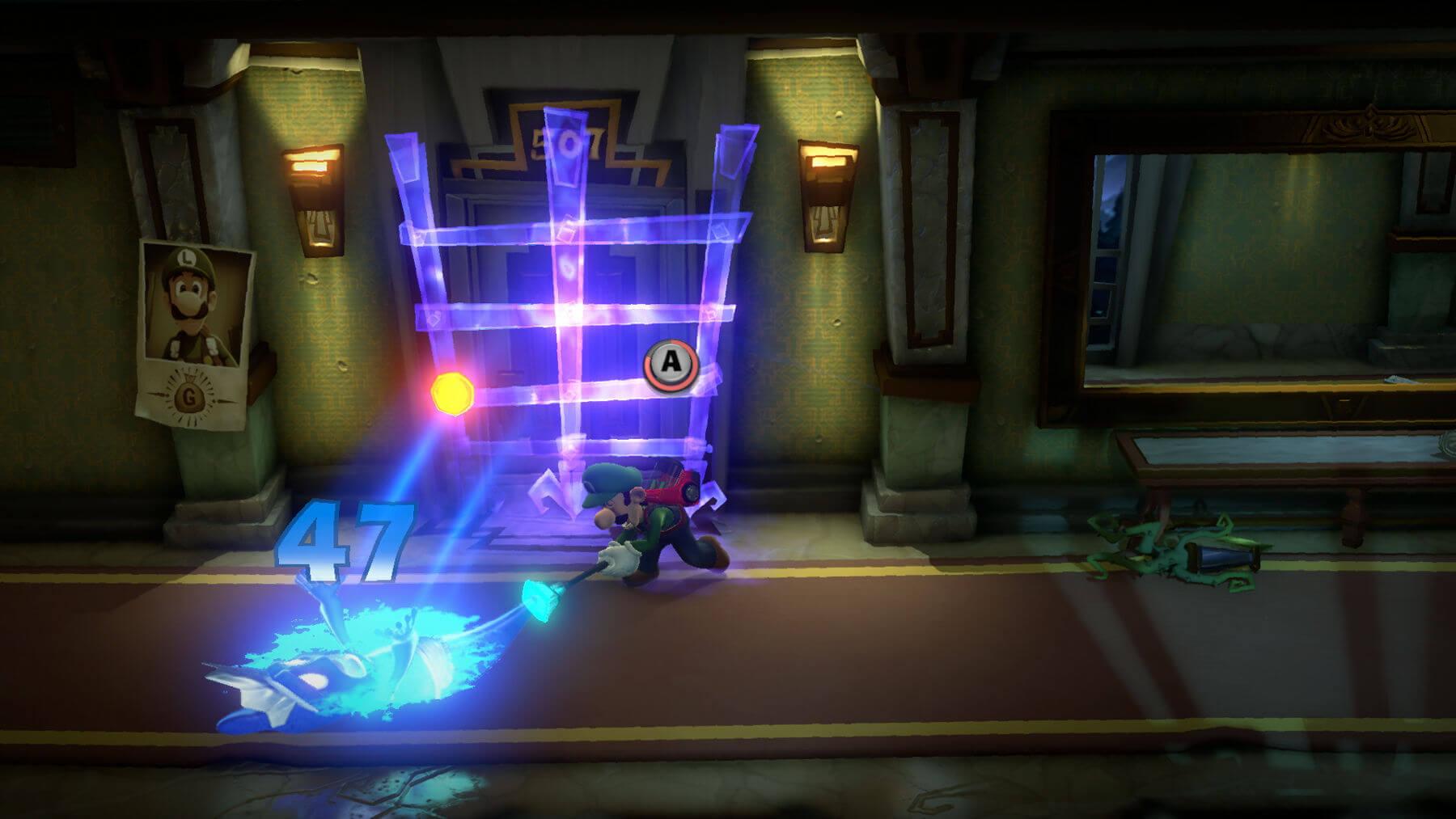 Luigi's Mansion 3 slam