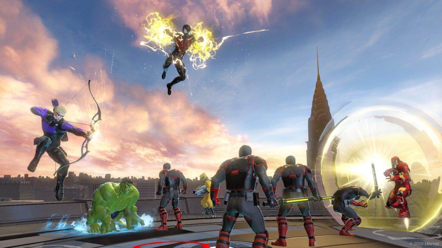 Marvel Ultimate Alliance heroes