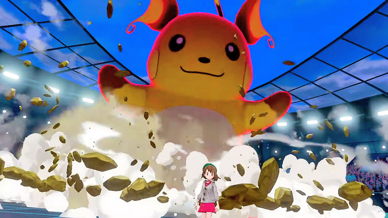 Pokemone Sword dynamix