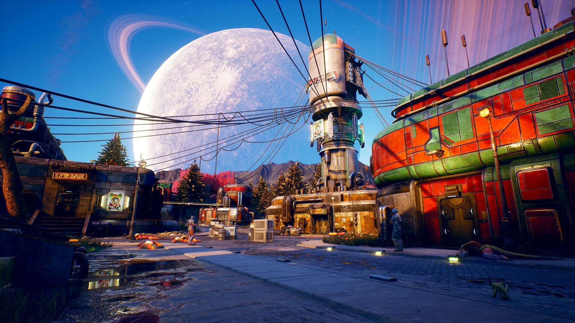 The Outer Worlds background
