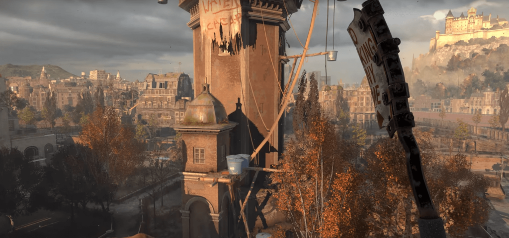 Dying Light 2 weapon