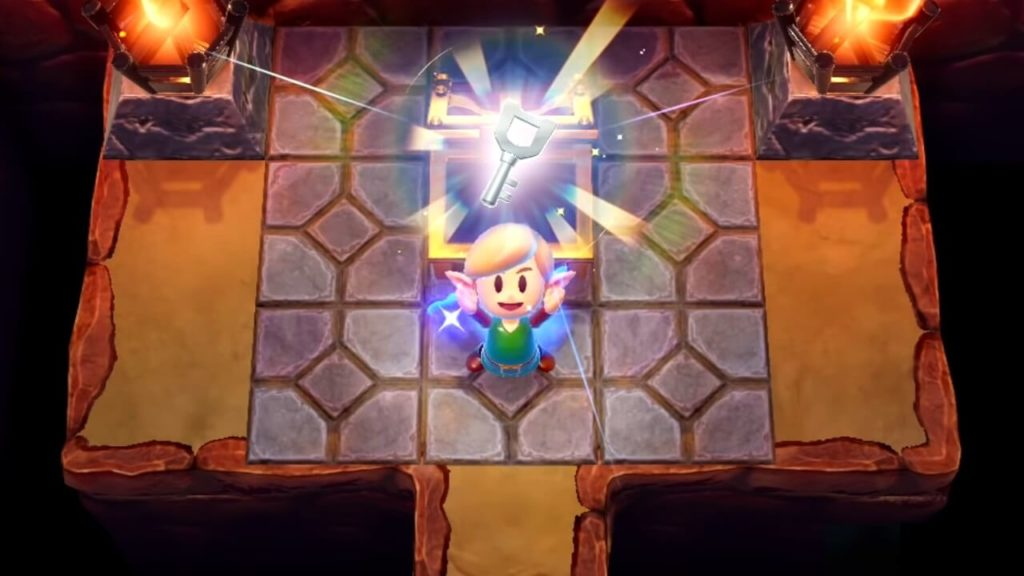 Links Awakening key found
