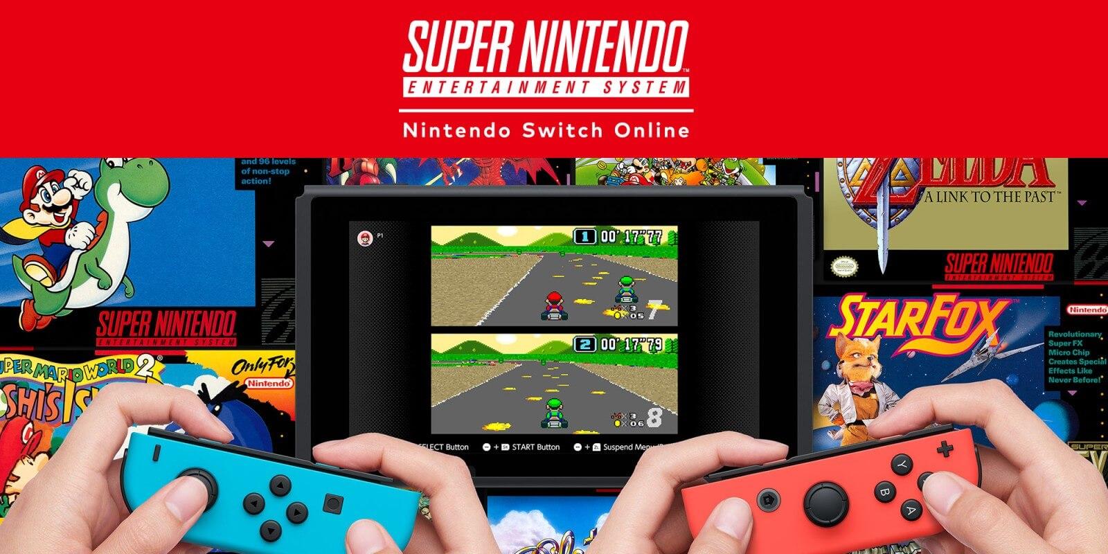 Nintendo Switch Online - SNES games