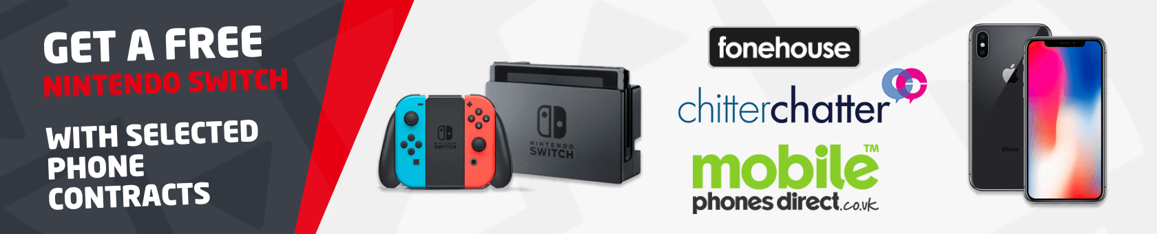 Free nintendo switch with phone deals