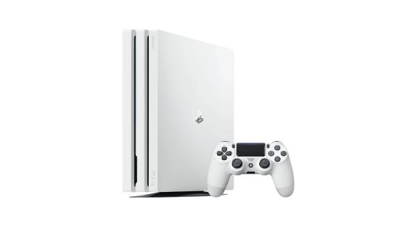 White PS4 Pro
