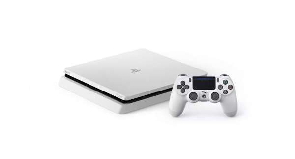 White PS4 Slim