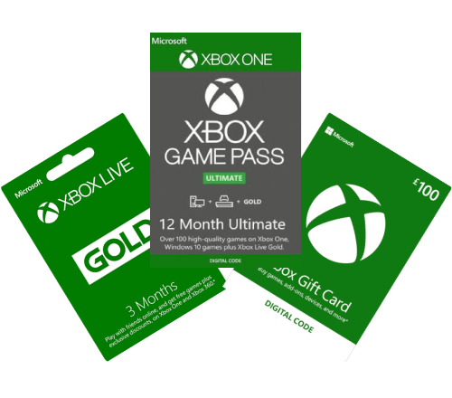 Xbox Gift Card and Wallet Top-Up Deals