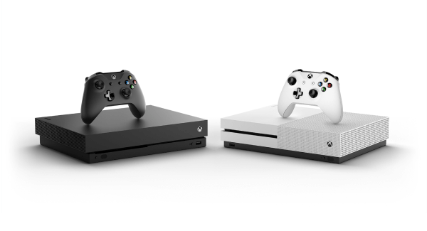 Xbox One S and X Consoles