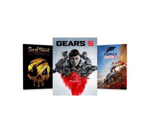 Xbox One games trio