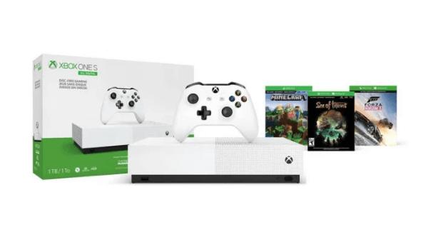 Xbox One S All Digital Bundle