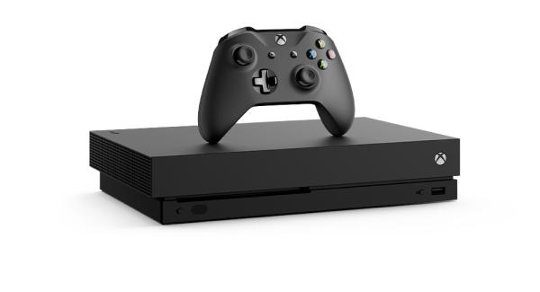 Xbox One X Console Half Content