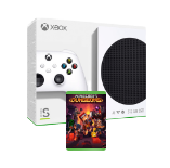 Xbox Series S with Minecraft Dungeons