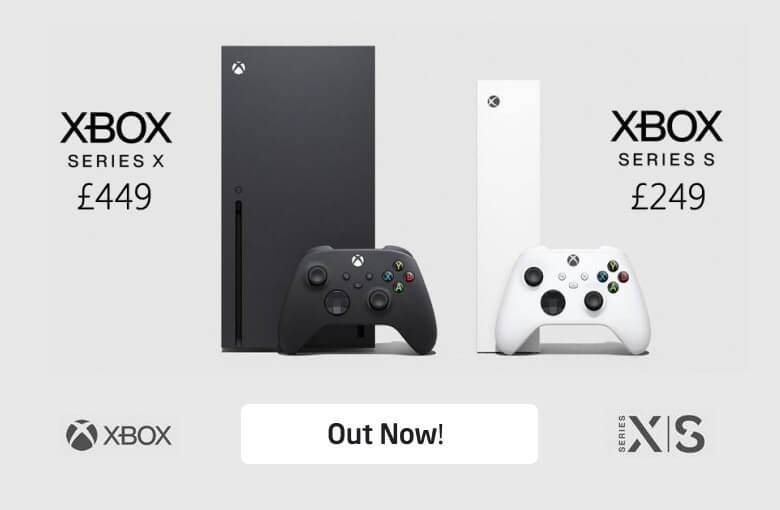 Xbox Series S and X Available Now!