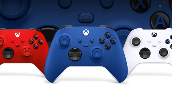 Xbox Series X Controllers Different Colours