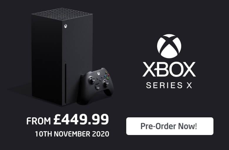 Xbox Series X Homepage Banner