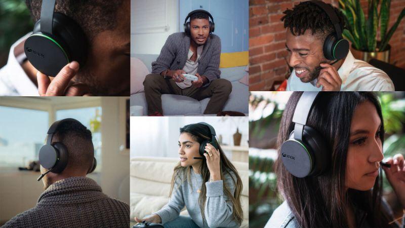 Xbox Wireless headset - press image