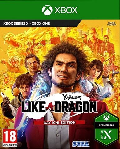Yakuza Like a Dragon - Xbox cover